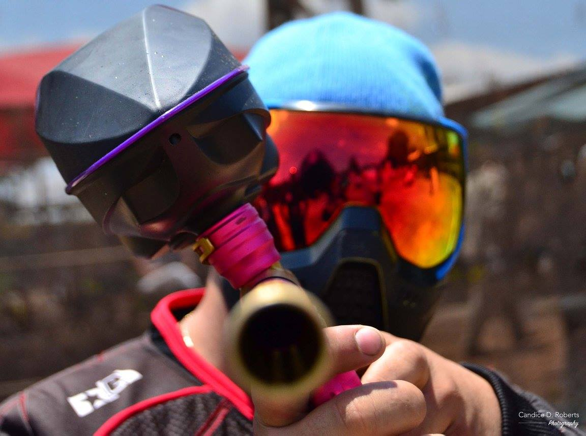 Candice D. Roberts Photography with Kyle Albertus at Paintball City